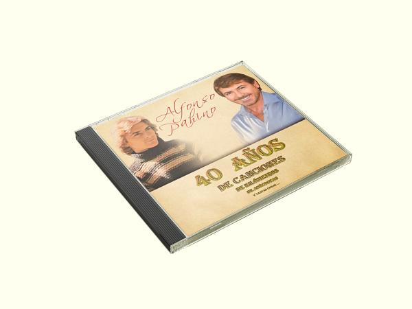 Disco 40 años Alfonso Pahíno